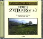 Classical Treasures - Beethoven: Symphonies No 1 & 3