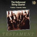 Hollywood String Quartet Plays Prokofiev, Hindemith, Walton