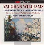 Vaughan Williams: Symphony No. 6, Symphony No. 9 / Handley