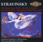 Stravinsky: The Firebird Suite; The Rite of Spring; Petrouchka; Symphony in Three Movements