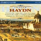Haydn: Cto For Organ & 2 Oboes