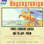 Aram Khachaturian: Ode To Joy And Other Works