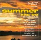 Karaoke: Summer Hits 98, Vol. 1 - Pop Male