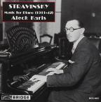 Stravinsky: Music for Piano (1911-1942)