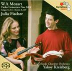 W.A. Mozart: Violin Concertos Nos. 3 &amp; 4