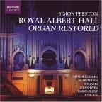 Royal Albert Hall - Organ Restored