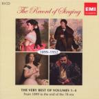 Record of Singing, 1899-1952: The Very Best of Volumes 1-4
