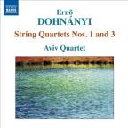 Erno Dohnanyi: String Quartets Nos. 1 and 3
