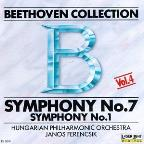 Beethoven Collection Vol 4- Symphony No 7 & 1 / Ferencsik
