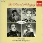 Record of Singing, Vol. 5