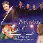 4 Artistas 20 Temas Merengue, Vol. 4