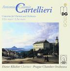 Cartellieri: Concertos for Clarinet and Orchestra Vol. 1
