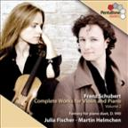 Franz Schubert: Complete Works for Violin &amp; Piano, Vol. 2