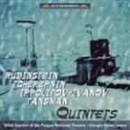 Rubinstein: Quintet For Piano And Winds In F Major / Tcherepnin: Wind Quintet / Ippolitov-Ivanov: An Evening In Georgia