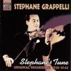 Stephane's Tune: Original Recordings, Vol. 1 1938 - 1942