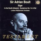 Elgar: In The South, Symphony No 1 / Boult, London Po