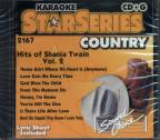 Karaoke Star Series: Hits of Shania Twain, Vol. 2