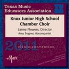2011 Texas Music Educators Association (Tmea): Knox Junior High School Chamber Choir