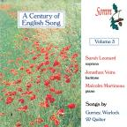 Century of English Song Vol
