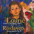 Artur Lourie: Concerto da camera; Suite; Nikolay Roslavets: String Quartet No. 3