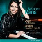 Chopin: 26 Preludes; Scriabine: Sonate No. 2 Op. 19