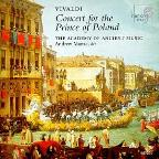 Vivaldi - Concert for the Prince of Poland / Manze, et al
