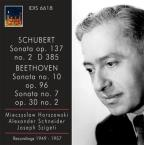 Schubert: Violin Sonata (Sonatina) In A Minor, Op. 137, No. 2 - Beethoven: Violin Sonatas Nos. 7 And 10
