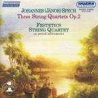 Three String Quartets Op.2