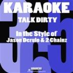 Talk Dirty (In The Style Of Jason Derulo & 2 Chainz) [karaoke Version] - Single