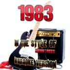 1983 (In The Style Of Neon Trees) [karaoke Version] - Single