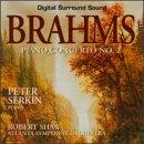 Brahms: Piano Concerto no 2 / Serkin, Shaw, Atlanta SO