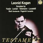 Leonid Kogan plays Sonatas by Ysaye, Leclair, Telemann, Locatelli
