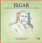 Elgar: Sonata For Violin And Piano In E Minor, Op. 82 (Allegro) [digitally Remastered]