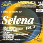 Vol. 3 - Karaoke Latin Stars