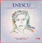 Enescu: Sonata No. 3 For Violin And Piano In A Minor, Op. 25