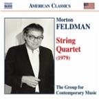 Feldman: String Quartet (1979)