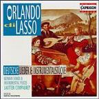 Lasso: Songs & Instrumental Pieces / Lautten Compagney