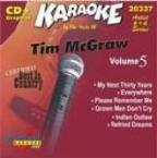 Karaoke: Tim Mcgraw 5