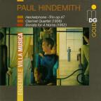 Hindemith: Heckelphone Trio, Op. 47, Clarinet Quartet, Sonata for 4 Horns