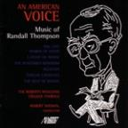 An American Voice: The Music of Randall Thompson