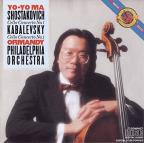 Shostokovich: Cello Concerto No. 1; Kabalevsky: Cello Concerto No. 1
