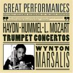 Hummel, Haydn, Mozart: Trumpet Concertos / Marsalis, Leppard