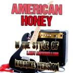 American Honey (In The Style Of Lady Antebellum) [karaoke Version] - Single