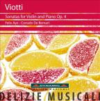 Viotti: Sonatas for Violin & Piano, Op. 4