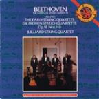 Beethoven: The Early String Quartets / Juilliard Quartet
