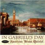 In Gabrieli's Day