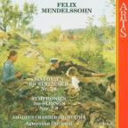 Mendelssohn: Symphonies for Strings, Nos. 7-8