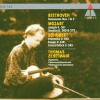 Beethoven: Romances Nos 1 & 2;  Mozart; Schubert / Zehetmair