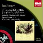 Devil's Trill: Showpieces For Violin & Piano