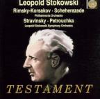 Leopold Stokowski conducts Scheherazade and Petrouchka